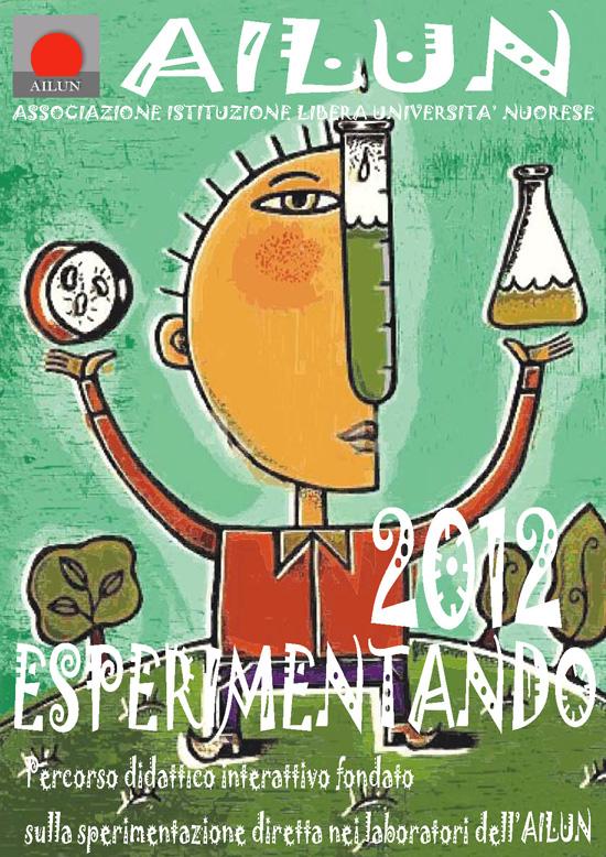 Locandina 2012 Progetto Esperimentando