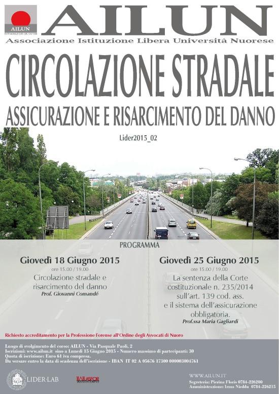 Circolazione Stradale – Giu 2015