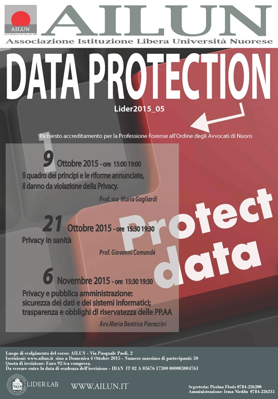 Data Protection Ott-nov 2015