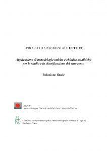"""Relazione finale del progetto """"OPTITEC 2"""""""