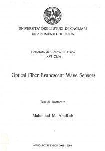 Optical fiber evanescent wave sensors