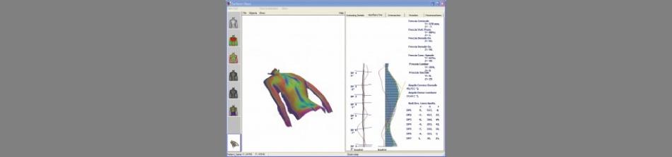 Schermata di Surfacer DiaSu, software diagnostico sviluppato all'AILUN in esclusiva per Diagnostic Support (Roma). (Immagine: AILUN)