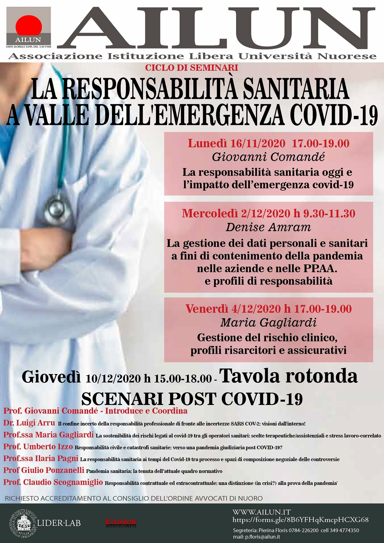 La responsabilità sanitaria a valle dell'emergenza covid-19